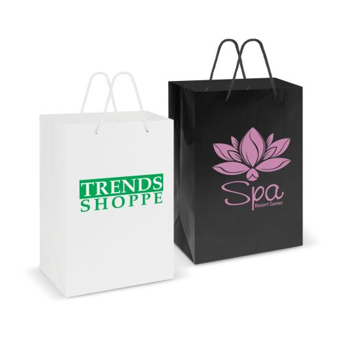 Eden Large Gloss Paper Carry Bag - Promotional Products