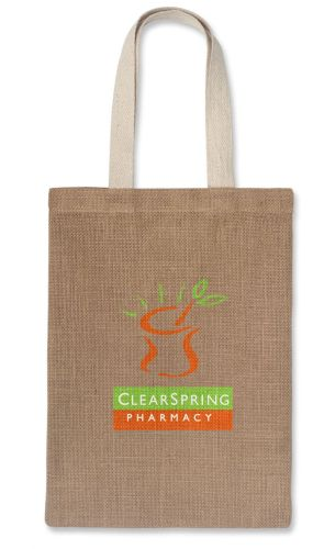 Eden Natural Jute Tote Bag - Promotional Products