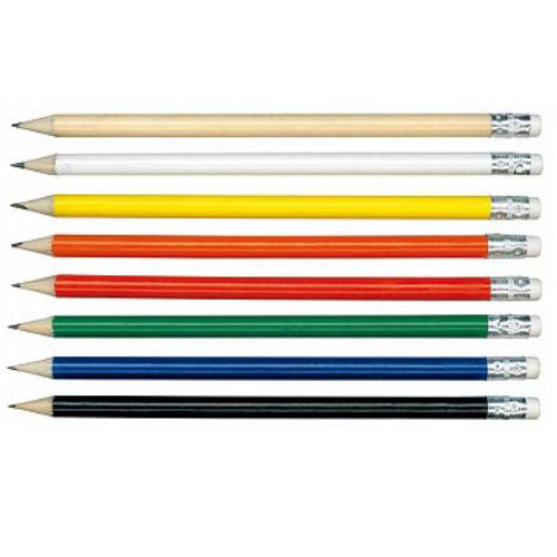 Eden Sharpened HB Pencil With Eraser - Promotional Products