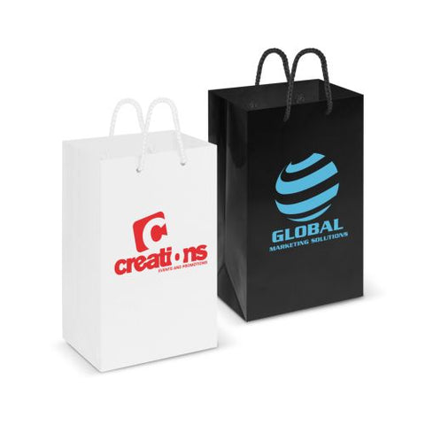 Eden Small Gloss Paper Carry Bag - Promotional Products
