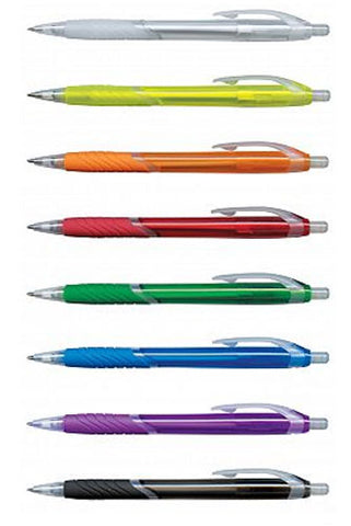 Eden Wave Translucent Plastic Pen - Promotional Products
