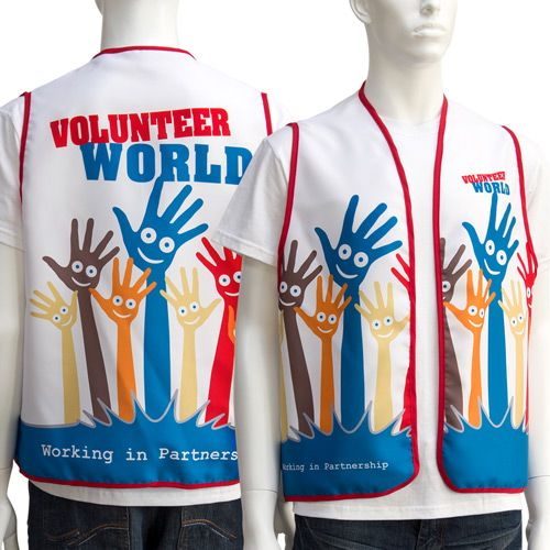 Event Identification Vest - Promotional Products