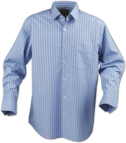 Premier Pinstripe Business Shirt - Corporate Clothing