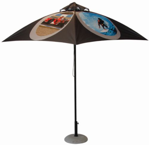 Full Colour Market Umbrella - Promotional Products