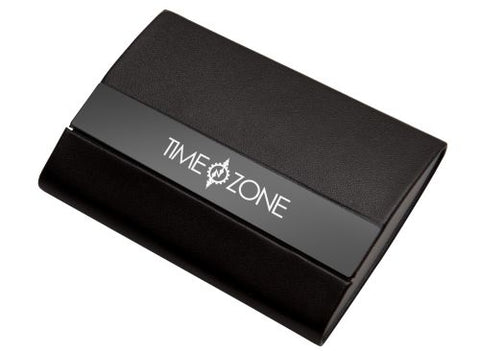 Classic Business Card Holder with Magnetic Closure - Promotional Products