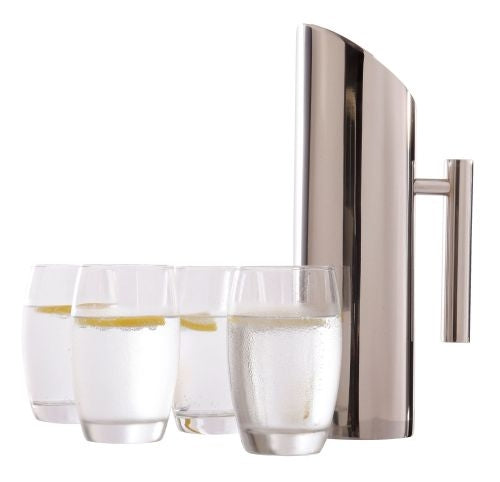 Dezine Glasses and Jug Boardroom Set - Promotional Products