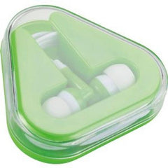 Arrow Earphones in Funky case - Promotional Products