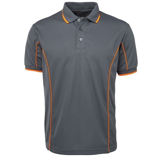 Malcom Side Stripe Polyester Polo Shirt - Corporate Clothing
