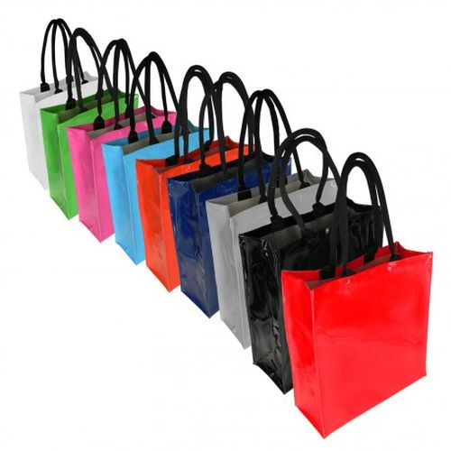 Dezine Glossy Tote Bag - Promotional Products