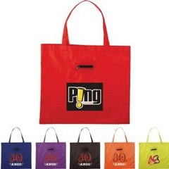 Arrow Nylon Tote Bag with Zippered Pouch - Promotional Products