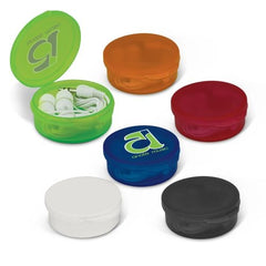 Eden Budget Earphones in Plastic Case - Promotional Products