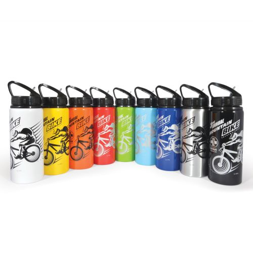 Bleep 600ml Aluminium Drink Bottle - Promotional Products