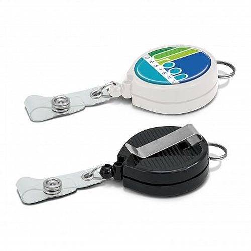 Eden Retractable Badge Holder with Lanyard Attachment - Promotional Products