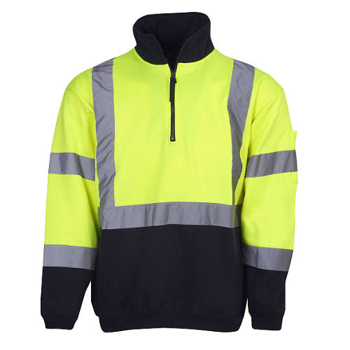 Hi Vis Winter Fleece Jumper - Day/Night Use - Corporate Clothing