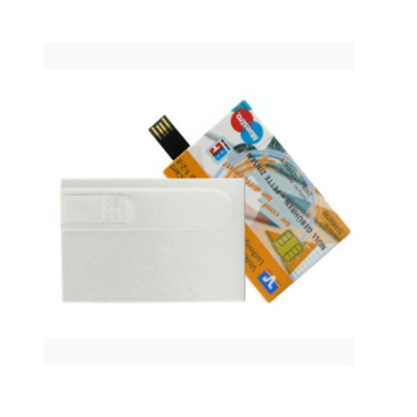 Slide Credit Card Style USB Flash Drive - Promotional Products