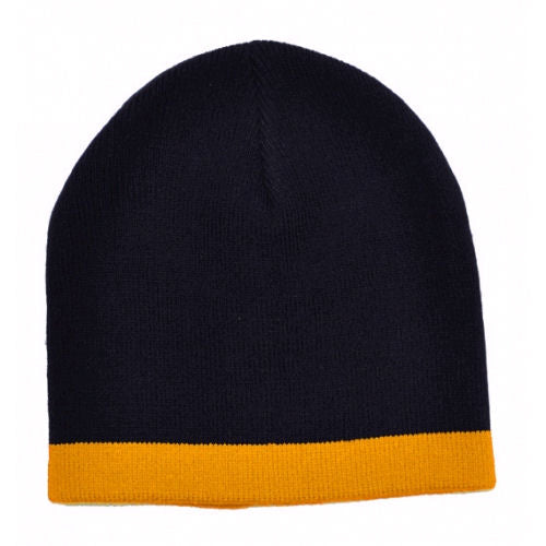 Icon Beanie with Contrast Trim - Promotional Products