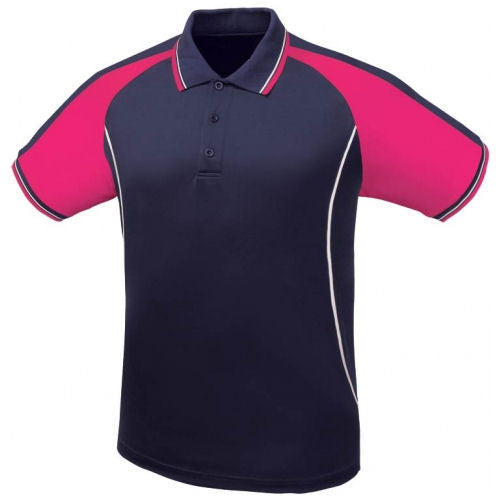 Icon Contrast Panel Design Polo Shirt - Corporate Clothing