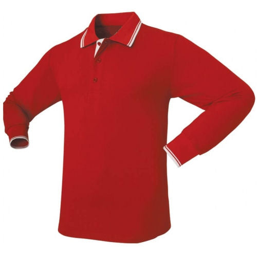 Icon Long Sleeve Sports Polo Shirt - Corporate Clothing