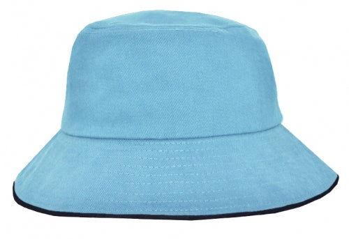Icon Sandwich Trim Bucket Hat - Promotional Products