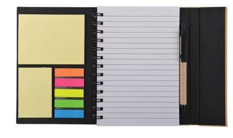 Bleep Eco Notebook with Pen - Promotional Products