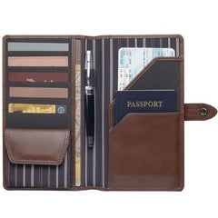 Avalon Genuine Leather Travel Wallet - Promotional Products