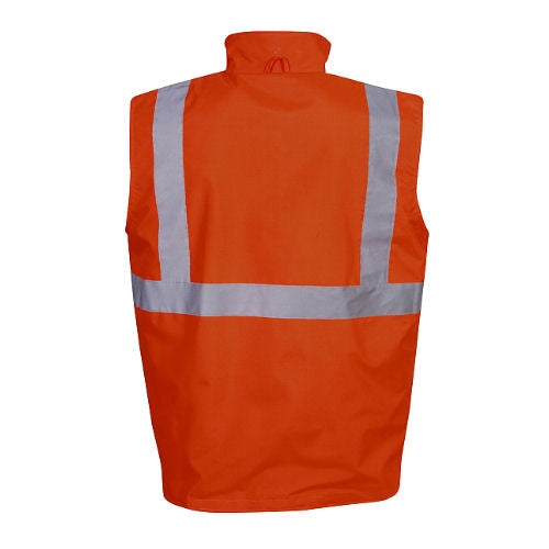 Hi Vis Reversible Vest - Day/Night Use - Corporate Clothing