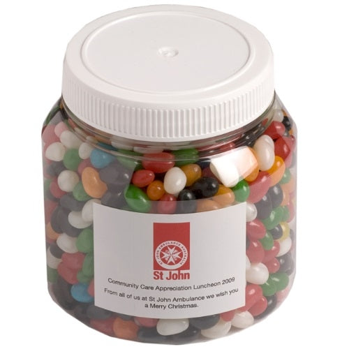 Yum 1KG Jelly Bean Container - Promotional Products