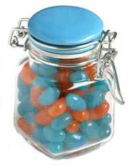 Yum Clip Jar filled with Lollies - Promotional Products