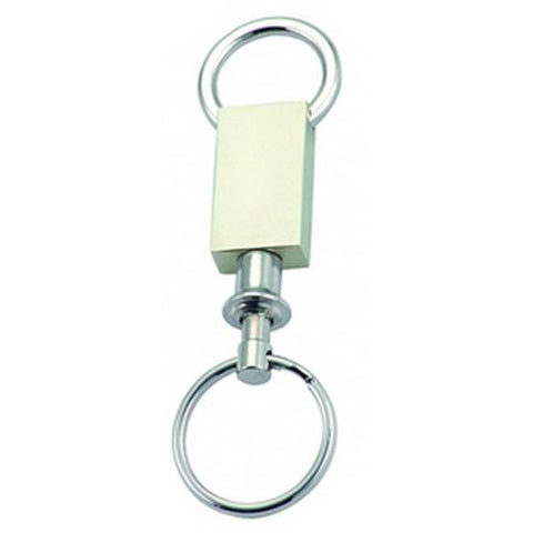 Arc Rectangle Pull Apart Keyring - Promotional Products