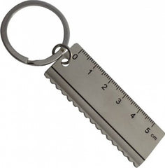 Arc Ruler Shape Keyring - Promotional Products