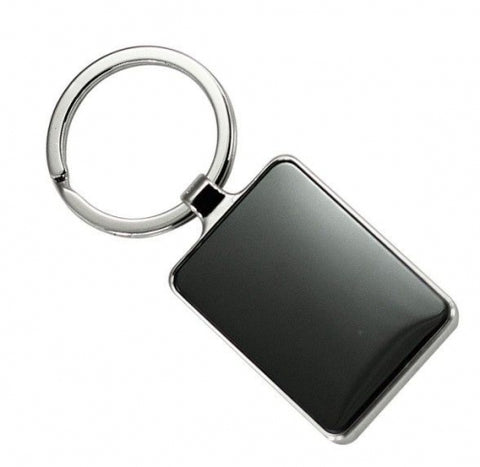 Arc Keyring with Double Sided Plate - Promotional Products
