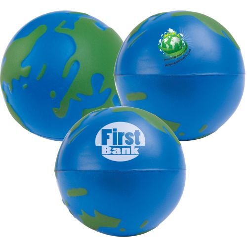 Bleep Stress World Globe - Promotional Products