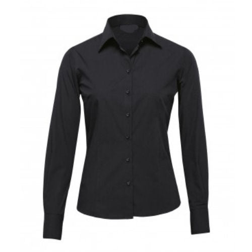 Phoenix Self Stripe Corporate Long Sleeve Shirt - Corporate Clothing