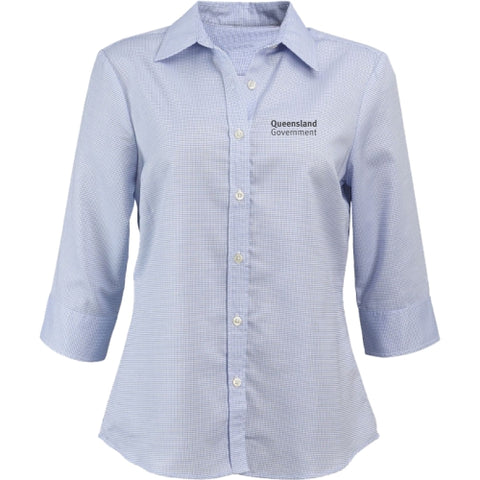 Ladies 3/4 Sleeve Corporate Shirt - Corporate Clothing