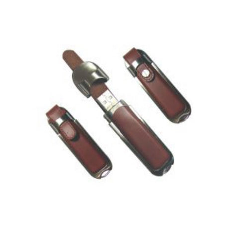 Leather USB Flash Drive - Promotional Products