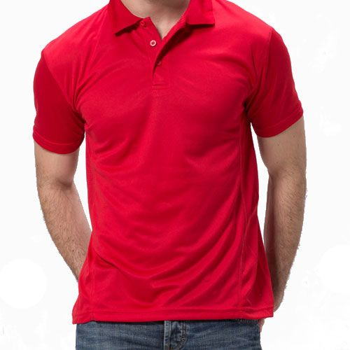 Logo Breathable Polyester Polo Shirt - Corporate Clothing