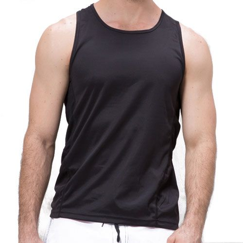 Logo Breathable Polyester Singlet