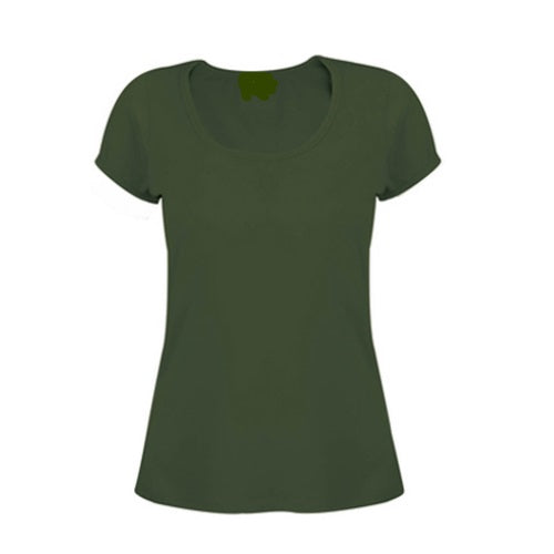 Logo Ladies Cotton Spandex TShirt - Corporate Clothing
