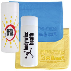 Bleep Chamois in PVC Tube - Promotional Products