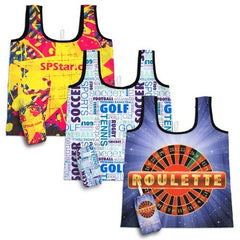 Boutique Folding Tote Bag with Pouch - Promotional Products
