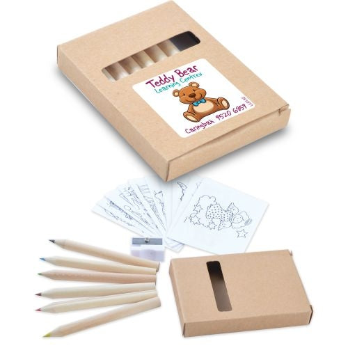 Bleep Pencil Pack with Sharpener & Colouring Sheets - Promotional Products