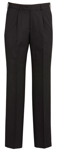 Mens Single Front Pleat Pant - Corporate Clothing