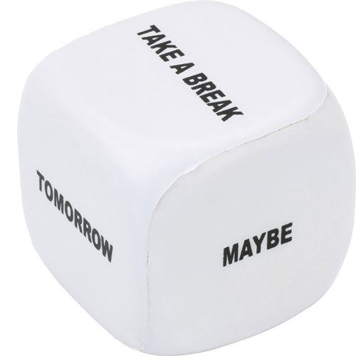 Milan Decision Maker Stress Cube - Promotional Products