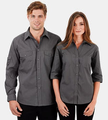 Reflections Double Pocket Business Shirt - Corporate Clothing