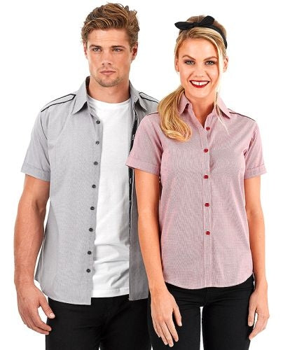 Reflections Epaulette Short Sleeve Shirt - Corporate Clothing