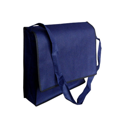 A Non Woven Flap Satchel - Promotional Products