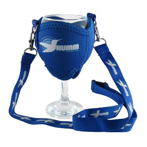 Neo Lanyard Wine Glass Holder - Promotional Products