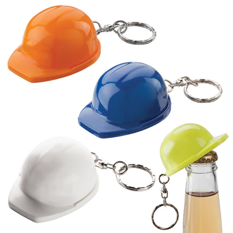 Avalon Keyring Hard Hat Bottle Opener - Promotional Products