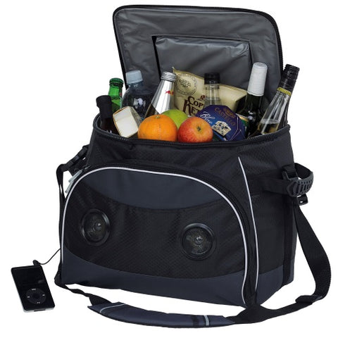Phoenix Soundwave Cooler Bag with Built-In Speakers - Promotional Products