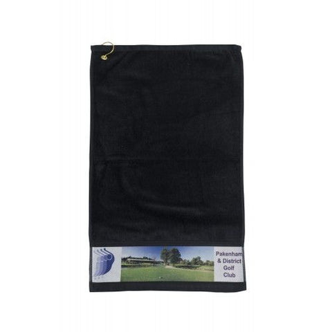 Photo Print Golf Towel - Promotional Products